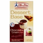 Elle and Vire Professional Dessert Base Chocolate Cream and Tart 1L