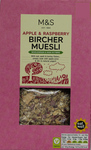 Marks and Spencer Apple and Raspberry Bircher Muesli 500g