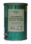 Marks and Spencer Colombian Microground Instant Coffee 100g
