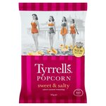 Tyrrells Sweet and Salty Popcorn 90g