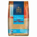 Tate and Lyle Fairtrade Light Brown Soft Sugar 500g