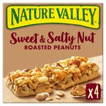 Nature Valley Sweet and Salty Nut Peanut 4 x 30g Pack
