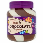 Tesco Chocolate Duo Spread 400g