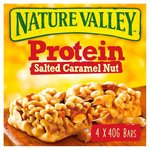 Nature Valley Protein Salted Caramel Nut 4 Bars