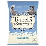 Tyrrells Lightly Sea Salted Popcorn 70g