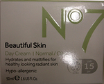 No7 Beautiful Skin Day Cream for Normal / Oily Skin 50ml