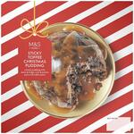 Marks and Spencer Sticky Toffee Christmas Pudding 900g