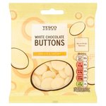 Tesco White Chocolate Buttons 70g