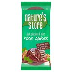 Natures Store Dark Chocolate and Mint Rice Cakes 100g