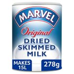 Marvel Dried Skimmed Milk 278g