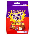 Cadbury Creme Egg Twisted Chocolate Bag 83g
