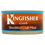 Kingfisher Shredded Crab Meat in Brine 170g