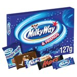 Milky Way and Friends Chocolate Christmas Selection Box Medium 127g