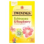 Twinings Echinacea and Raspberry Tea 20 Teabags