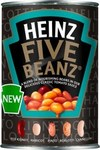 Heinz Five Beanz In Tomato Sauce 415g