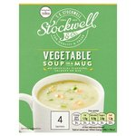 Stockwell and Co Vegetable Soup In A Mug 4 Pack