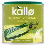 Kallo Organic Vegetable Bouillon 100g