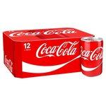 Coca Cola Regular 12 x 150ml Cans
