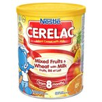 Nestle Cerelac Infant Cereal Mixed Fruits and Wheat with Milk 8 Months 400G