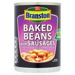 Branston Baked Beans and Sausages In Tomato Sauce 405g