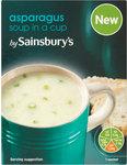 Sainsburys Asparagus Cup Soup 4 Sachets