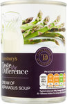 Sainsburys Taste the Difference Cream Of Asparagus Soup 400g