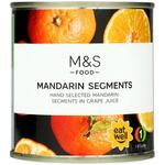 Marks and Spencer Mandarin Segments in Grape Juice 298g