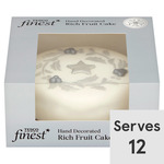 Tesco Finest Iced Rich Fruit Cake 907g