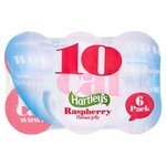 Hartleys Ready To Eat 10 Calorie Jelly Raspberry 6 x 175g