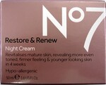 No7 Restore and Renew Night Cream 50ml