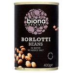 Biona Organic Borlotti Beans in Water 400g