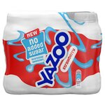Yazoo No Added Sugar Strawberry Milk Drink 6 x 200ml
