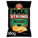 Walkers Max Strong Wasabi 150g