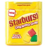 Starburst Fruity Mix Chewing Gum 100 Mini Pellets