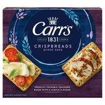Carrs Crispbreads Mixed Seeds 190g 5 Pack