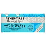 Fever Tree Light Mediterranean Tonic Water Cans 8 x 150ml
