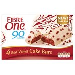 Fibre One Cake Bars Red Velvet 4 Pack