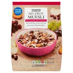 Tesco 50% Fruit Muesli 750g