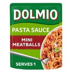 Dolmio Mini Meatball Pouch Pasta Sauce 150g