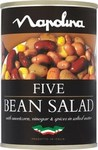 Napolina Five Bean Salad 400g