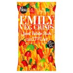 Emily Veg Crisps Chilli And Lime Sweet Potato Sticks 100G