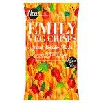 Emily Veg Crisps Chilli And Lime Sweet Potato Sticks 100G
