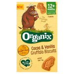 Organix 12 Month Goodies Organic Cocoa and Vanilla Gruffalo Biscuits 5 Pack