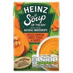 Heinz Soup of the Day Spiced Pumpkin Sweet Potato And Carrot 400g