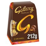 Galaxy Truffles Caramel Milk Chocolate Medium Gift Box 212g