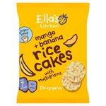 Ellas Kitchen Organic Mango and Banana Rice Cakes 40g