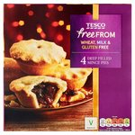 Tesco Free From Deep Filled Mince Pies 4 Pack