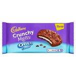 Cadbury Crunchy Melts Oreo Creme Cookies 156G