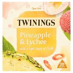 Twinings Pineapple and Lychee Tea 20 Teabags