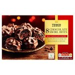 Tesco Chocolate Swirl Bites 8 Pack